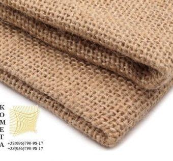 Джутовая ткань (плотность 250 г/м2). Купить джутовую ткань. Мешковина