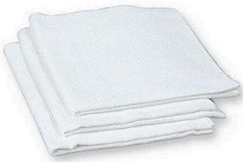 Вафельное полотенце отбеленное, 200 г/м2, 0,45х0,7м. Купить вафельные полотенца